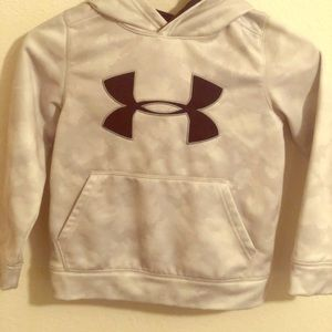 Youth under armour hoodie sweater